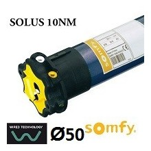 Motor persiana SOMFY SOLUS vía cable 10NM/12