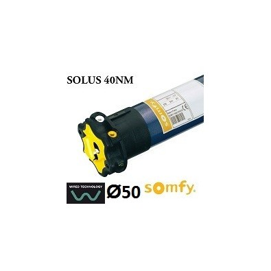 Motor persiana SOMFY SOLUS vía cable 40NM/12