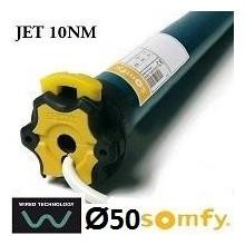 Motor SOMFY JET vía cable semiautomático 10NM/17