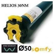 Motor SOMFY HELIOS vía cable semiautomático 30NM/17