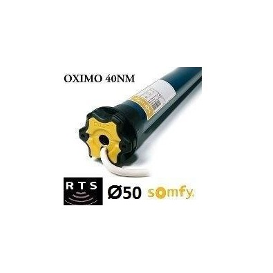 Motor Somfy OXIMO vía radio RTS 40/17