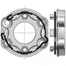 Motor SOMFY CERES vía cable semiautomático 8NM/17