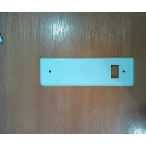 Placa recogedor metálico