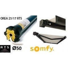 Motor Somfy OREA 25/17 RTS