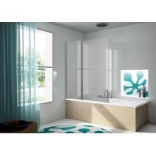 Mampara de baño fija + puerta abatible Serie 300(TR563)
