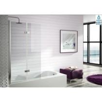 Mampara de baño con puerta plegable y abatible Serie 300 (TR573)