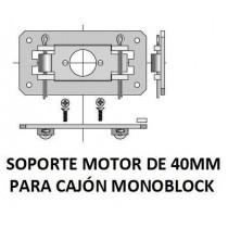 Soporte para motor de 40 mm