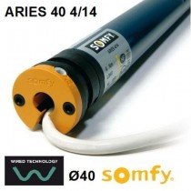 Motor Somfy ARIES 40 4/14 vía cable
