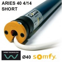 Motor Somfy ARIES SHORT 40 4/14 vía cable