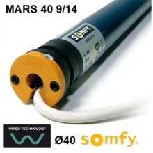 Motor Somfy MARS 40 9/14 vía cable