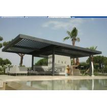 Pérgola bioclimática de aluminio SOLISYSTEME