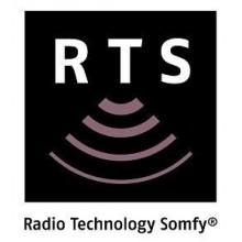 Motores Somfy toldo con tecnología RTS